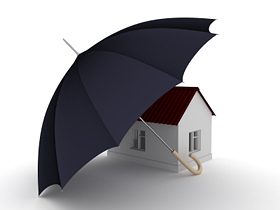 Insurance - Turney Associates Letting Agents in Cambridge - umbrella over house