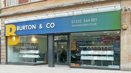 Burton & Co Property Centre in Lincoln - Front of office