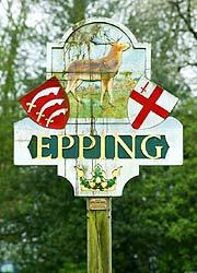 Essex Lettings - Letting  Agents in Epping - Sign Board coming in to Epping