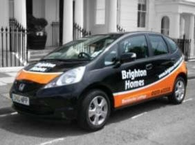 Brighton Homes Lettings Agents Branded Car