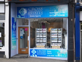 Cross Estates - Estate Agents in St Ives - Front of office