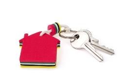 Linhams - set of keys to a letting property in Weston-super-Mare