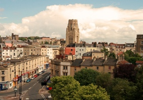 Bristol Town where D W Smith & Co Estate Agents are based