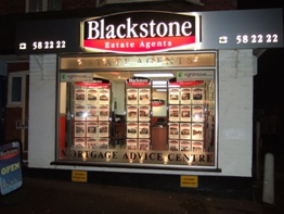Blackstone Estate Agents in Kinson, Bournemouth - Front of office