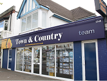 image of Town and Country estate agents office in Leigh-on-sea