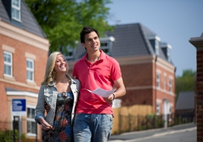 Young couple renting a house in Muswell Hill