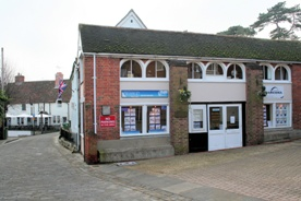Hamble Estate Agents in Hamble - Front of office