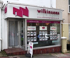 Wilkinsons Estate & Letting Agents in Brighton - Front of office