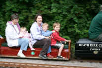 Heath Park miniture railway