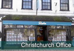 Slades Christchurch Office Property in Highcliffe, Bransgore, Christchurch, Bournemouth, Dorset. - Image of  Christchurch front of office