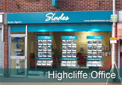 Slades Highcliffe Office Property in Highcliffe, Bransgore, Christchurch, Bournemouth, Dorset. - Image of  Highcliffe front of office