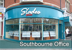 Slades Southbourne Office - Slades Estate Agents - Property in Highcliffe, Bransgore, Christchurch, Bournemouth, Dorset. - Image of  Southbourne front of office
